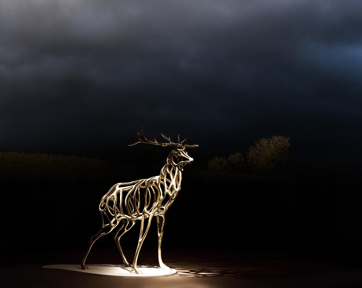 Richard Texier-Artist-Sculpture-Deer